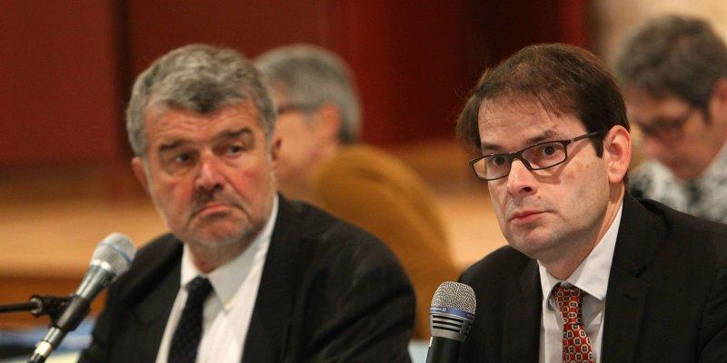Jean-François Fountaine et Michel Puyrazat