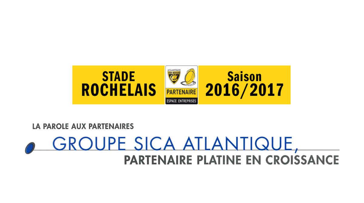 Groupe Sica Atlantique, partenaire platine du Stade Rochelais